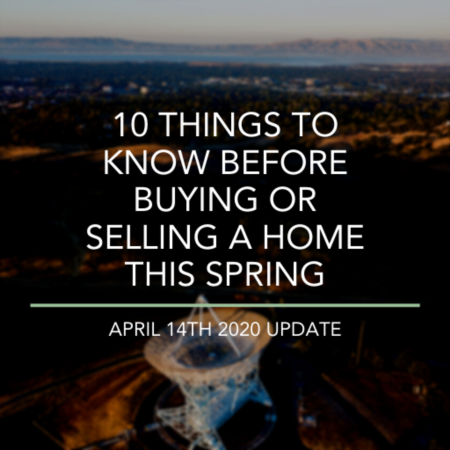 10 Things To Know Before Buying Or Selling A Home This Spring