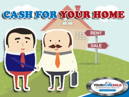 We Will Buy Your Home for CASH at a Price Acceptable to YOU!
