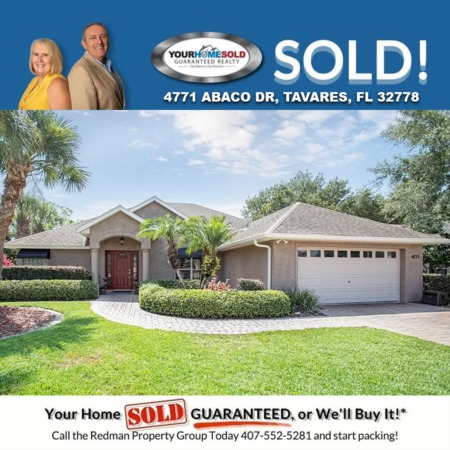 SOLD - 4771 ABACO DR, TAVARES, FL 32778