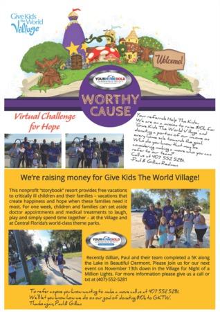 Virtual Challenge for Hope