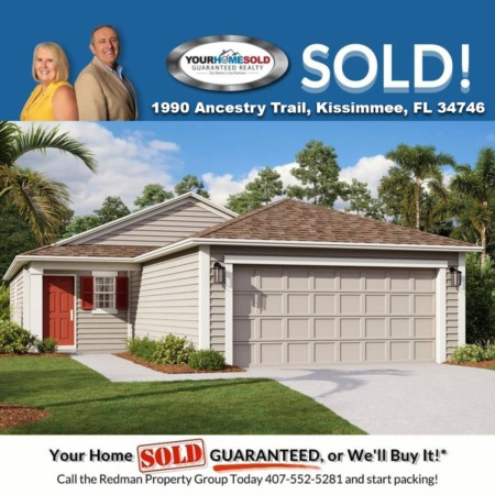 SOLD - 1990 Ancestry Trl, Kissimmee, FL 34746