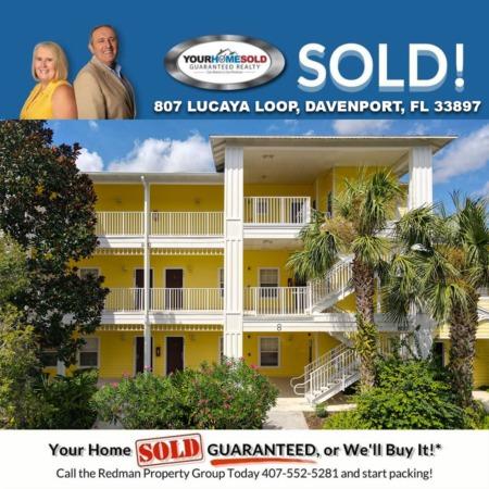 SOLD - 807 LUCAYA LOOP, DAVENPORT, FL 33897