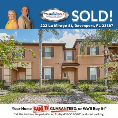 SOLD - 223 La Mirage St, Davenport, FL 33897
