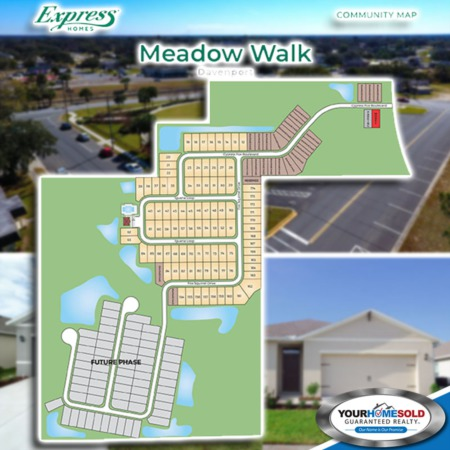 Now Selling in the Beautiful Meadow Walk Community!