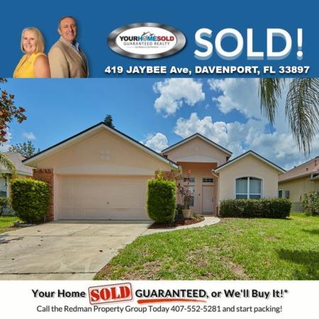 SOLD - 419 Jaybee Ave, Davenport, FL 33897