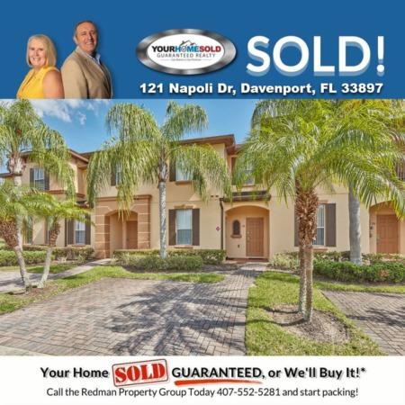 SOLD - 121 Napoli Dr, Davenport, FL 33897