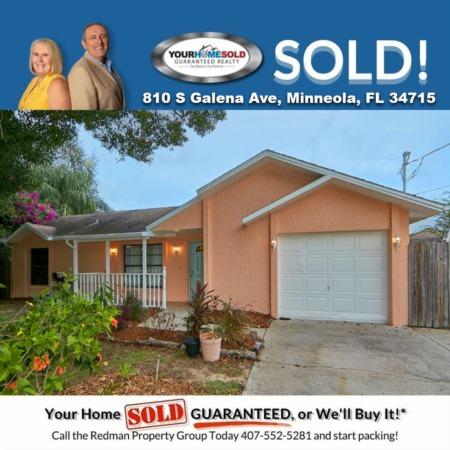 SOLD - 810 S Galena Ave, Minneola, FL 34715