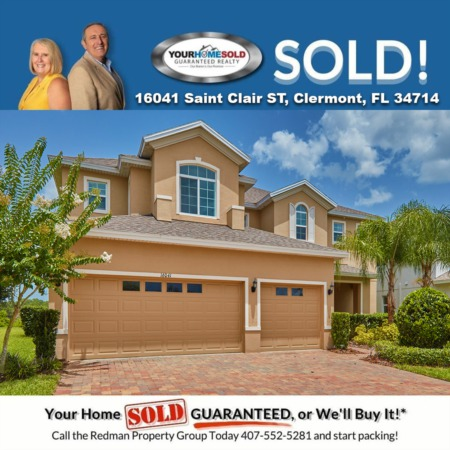 SOLD - 16041 Saint Clair ST, Clermont, FL 34714