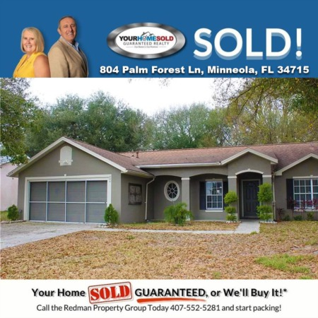 SOLD - 804 Palm Forest Ln, Minneola, FL 34715