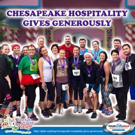 Chesapeake Hospitality Gives Generously