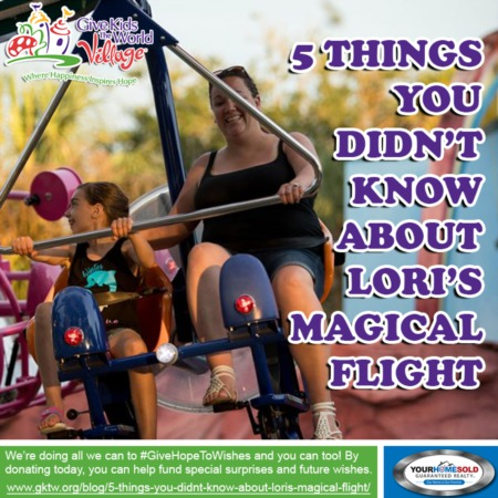 5 Things You Didn't Know About Lori's Magical Flight