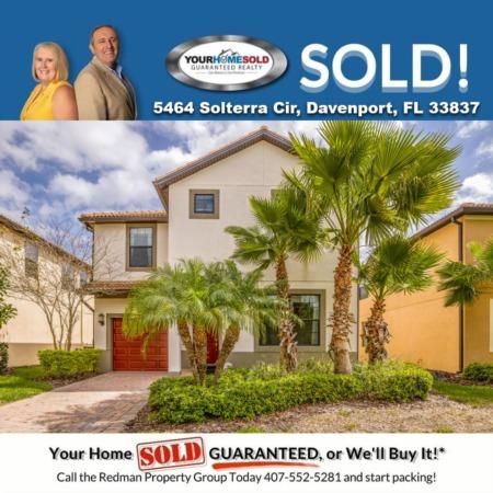 SOLD - 5464 Solterra Cir, Davenport, FL 33837