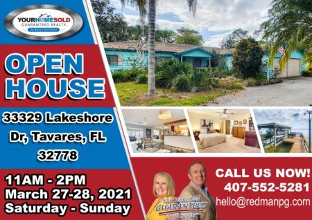 OPEN HOUSE - Lovely Lakeshore Dr Home