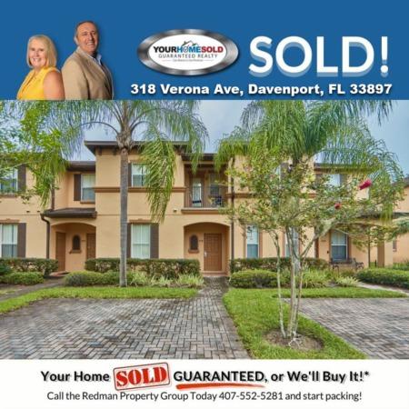 SOLD - 318 Verona Ave, Davenport, FL 33897