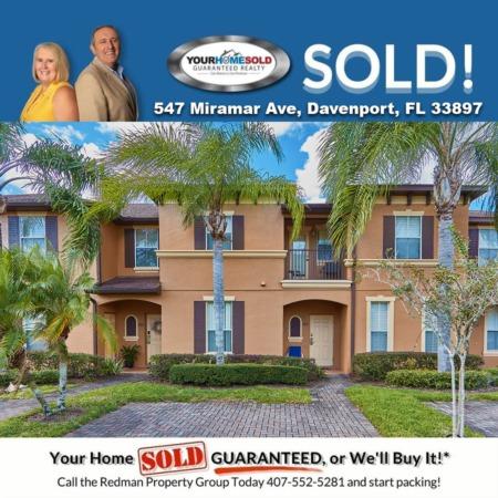 SOLD - 547 Miramar Ave, Davenport, FL 33897