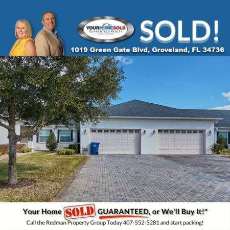 SOLD - 1019 Green Gate Blvd, Groveland, FL 34736
