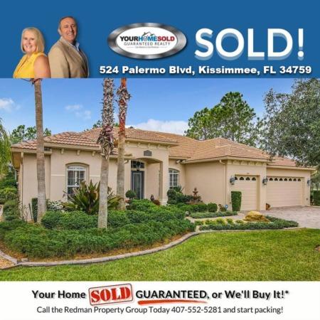 SOLD - 524 Palermo Blvd, Kissimmee, FL 34759