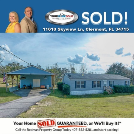 SOLD - 11610 Skyview Ln, Clermont, FL 34715