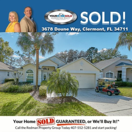 SOLD - 3678 Doune Way, Clermont, FL 34711