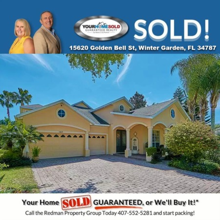 SOLD - 15620 Golden Bell St, Winter Garden, FL 34787