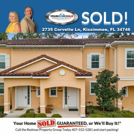 SOLD - 2735 Corvette Ln, Kissimmee, FL 34746