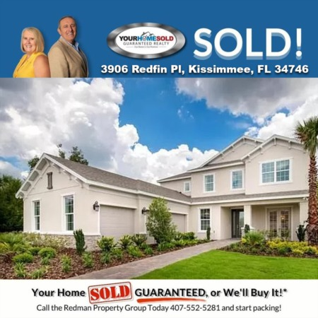 SOLD - 3906 Redfin Pl, Kissimmee, FL 34746