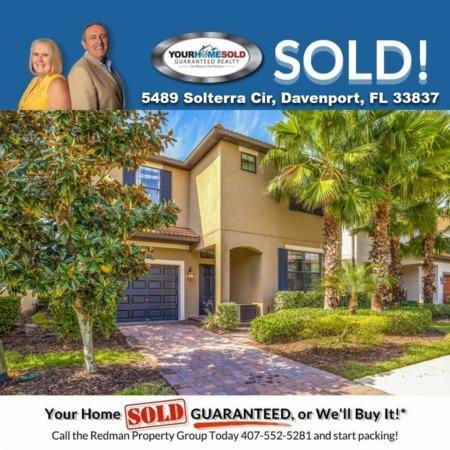 SOLD - 5489 Solterra Cir, Davenport, FL 33837