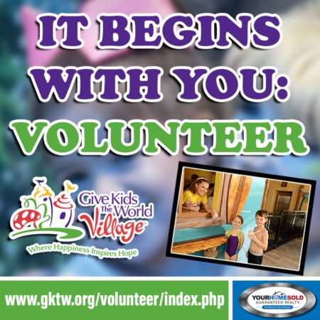 It Begins With You: Volunteer