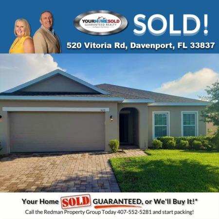 SOLD - 520 Vitoria Rd, Davenport, FL, 33837