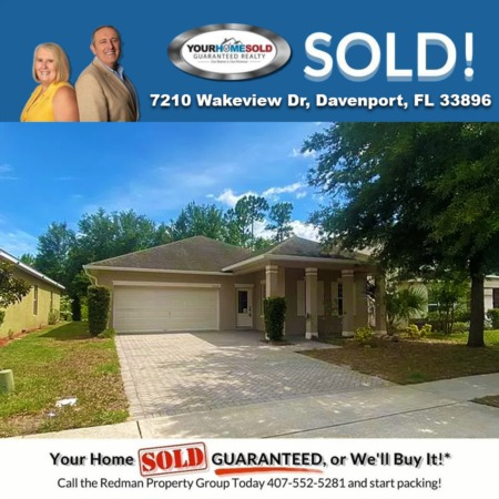 SOLD - 7210 Wakeview Dr, Davenport, FL 33896