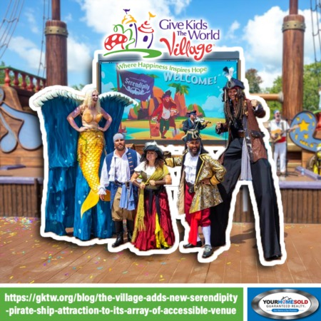The Village Adds New Serendipity Pirate Ship Attraction To its Array of Accessible Venues