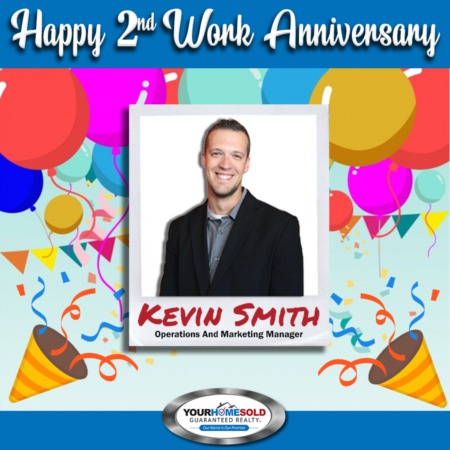 Happy 2nd Work Anniversary, Kevin!