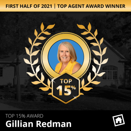 Congratulations, Gillian! You're an official winner of the Top 15% Award for the first half of 2021!