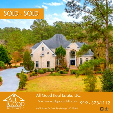 Just Sold - Greenville NC