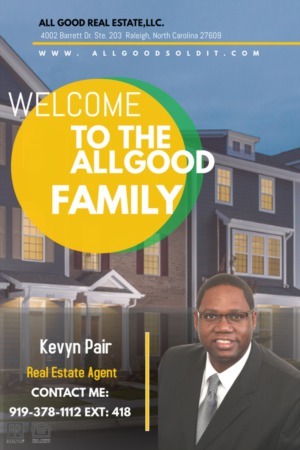 Welcome Real Estate Agent Kevyn Pair To the All Good Real Estate Family