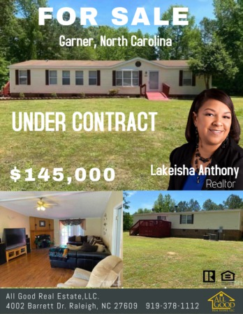 Home is Under Contract Today
