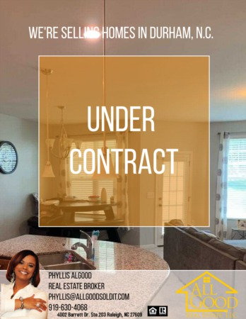 Under Contract In Durham, NC