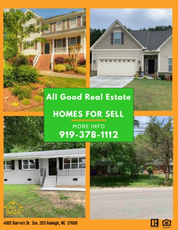 All Good Real Estate Homes For Sale