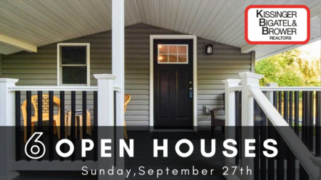 Open Houses this Sunday 9/27! State College, Bellefonte & More!