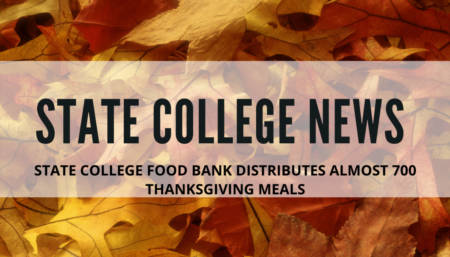 State College News- State College Food Bank Distributes Thanksgiving Meals