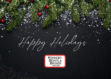 Happy Holidays! From, KBB