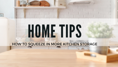 Home Tips: How to get more kitchen storage