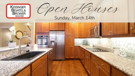 Open Houses, Sunday March 14th