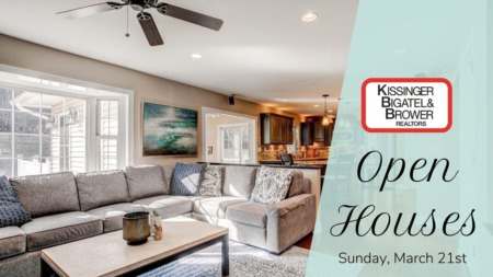 Open Houses - Sunday, March 21st