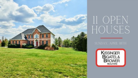 Open Houses - Sunday, April 18th