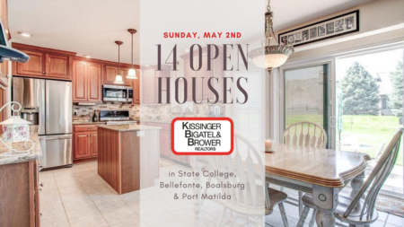 Open Houses - Sunday, May 2nd
