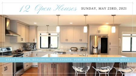 Open Houses - Sunday, May 23rd, 2021