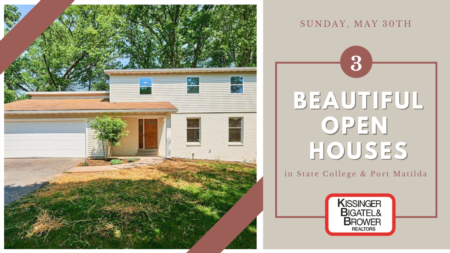 Open Houses- Sunday, May 30th