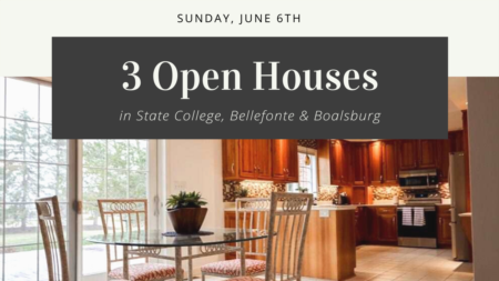 Open Houses- Sunday, June 6th