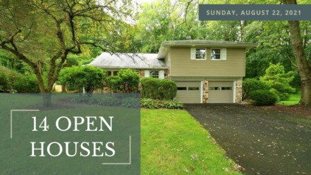 Open Houses - Sunday, August 22nd